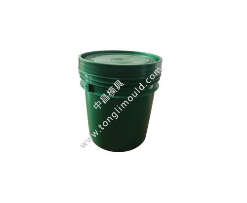 塑料涂料桶模具